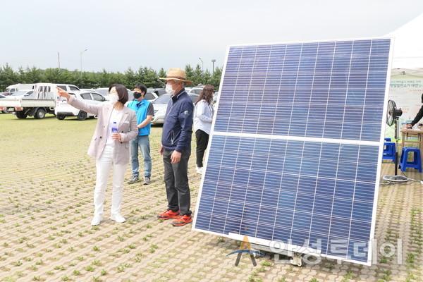 안성햇빛발전협동조합, 산내들 푸른안성 환경축제 통해 태양열에너지 홍보